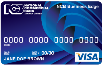 Credit cards for business national commercial bank ncb jamaica ltd cards business edge apply now reheart Gallery